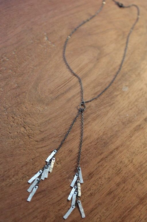 tassel fringe necklace