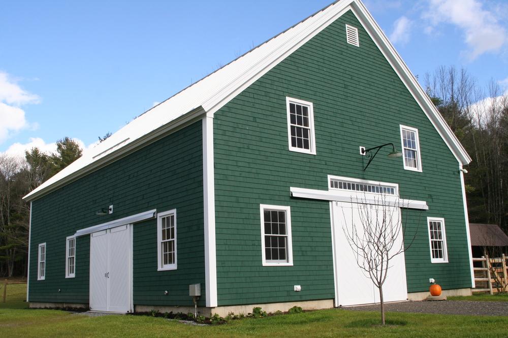 Tishman Livestock Barn