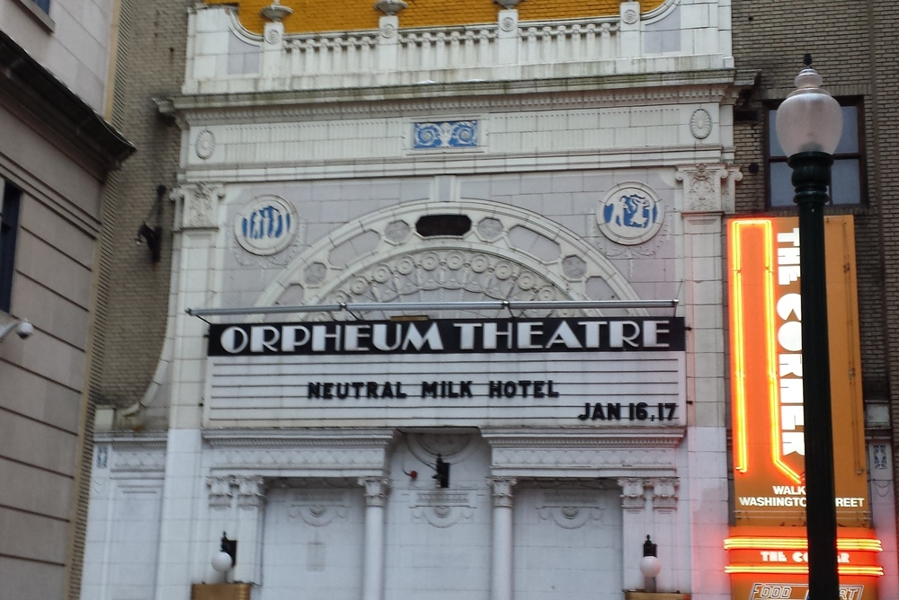 The beautiful Orpheum Theatre