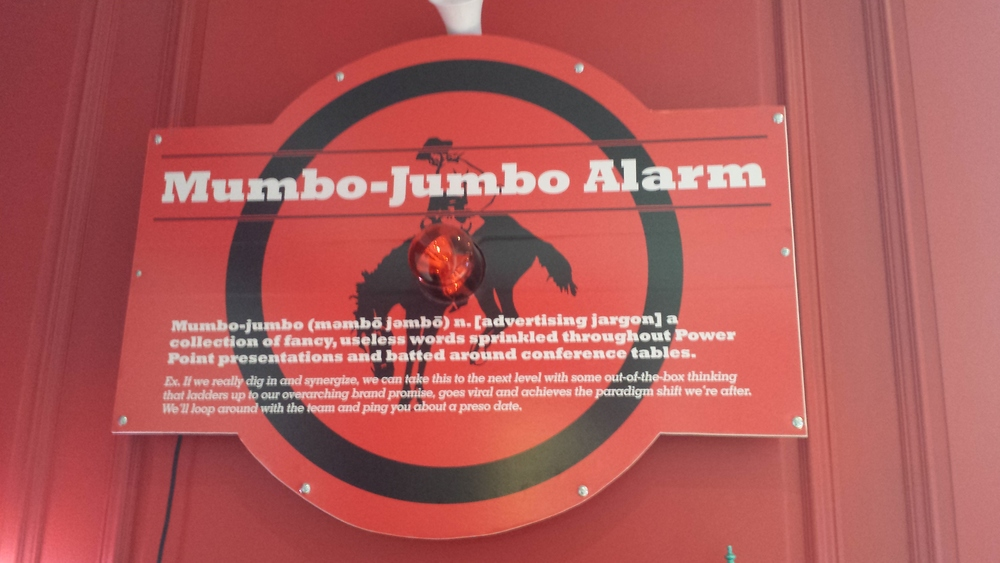 No Mumbo-Jumbo Allowed