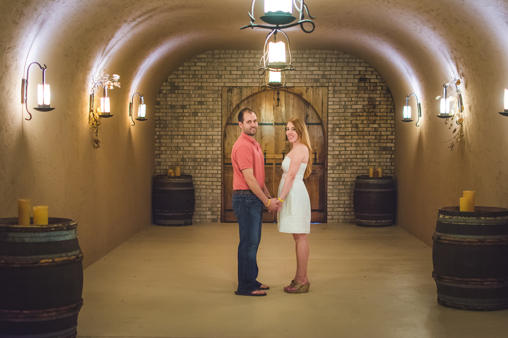 Engagement Photos in the coyote cave at PPW…Little Bud Photography
