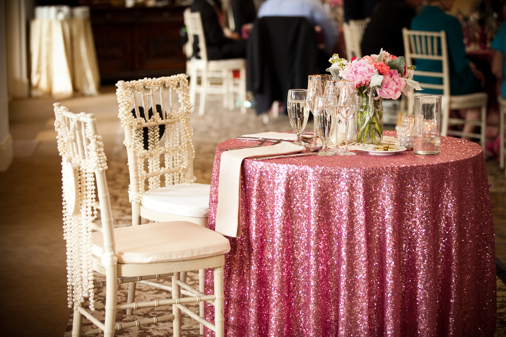 Our sweetheart table (I need this in my house!)
