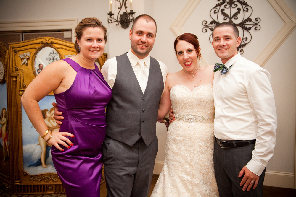 Our close friends Alice & Carl, who were also our day of wedding coordinators. Our day would not have happened without them! You guys are the best!!! THANK YOU!!!