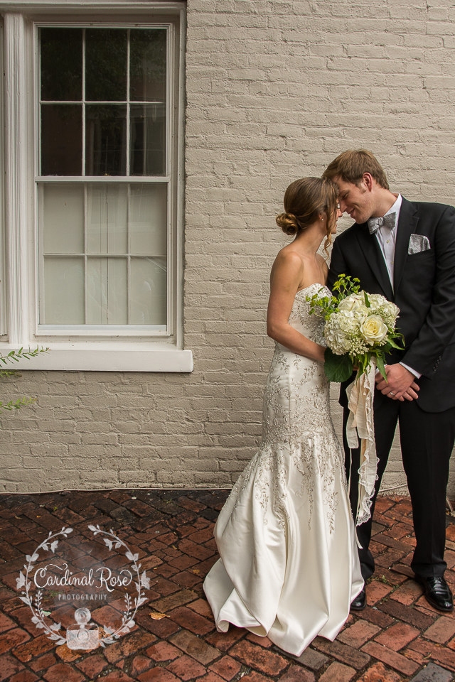 Styled bridal shoot in Alexandria Virginia