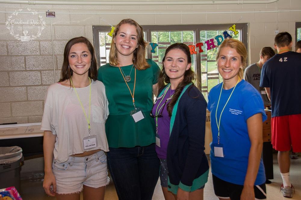 Some of the amazing volunteers!