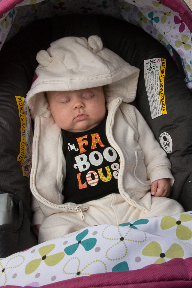 The youngest participant…what a sweetie!