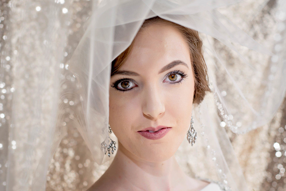 Bridal Portraits by Cardinal Rose Photography in Houston, Texas