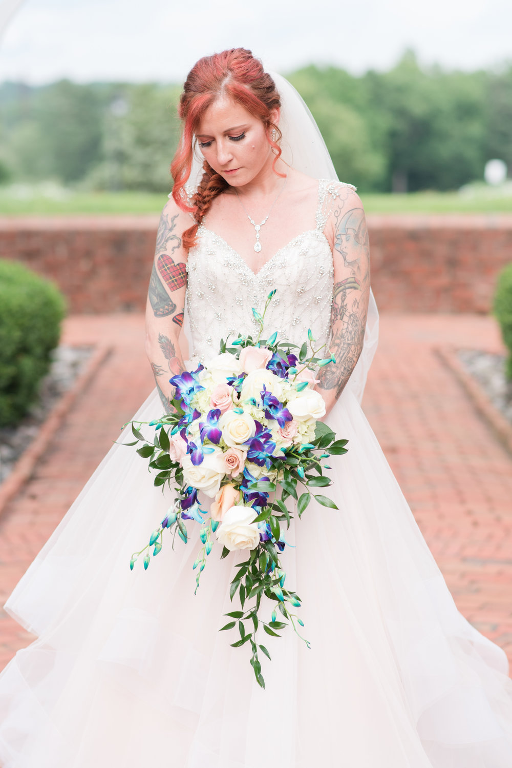 Spring wedding in Glen Allen Virginia