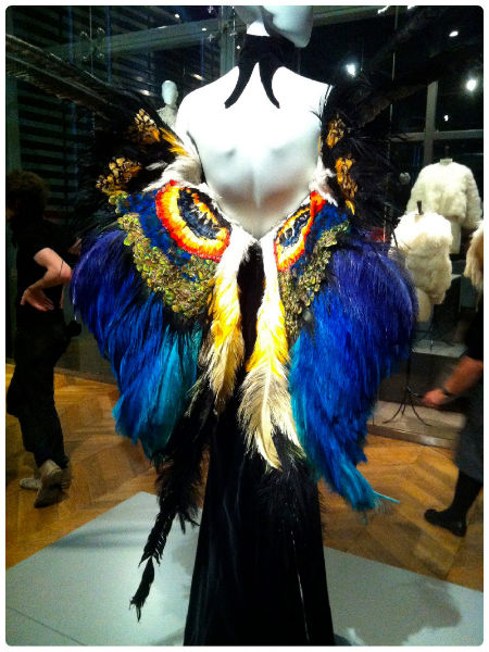 Thierry Mugler, Haute Couture spring-summer 1997, '  M  é  tamophose  d'une chrysalide en femme papillion'