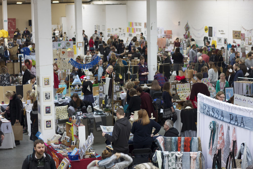 The Saturday morning at Renegade Craft Fair 2014