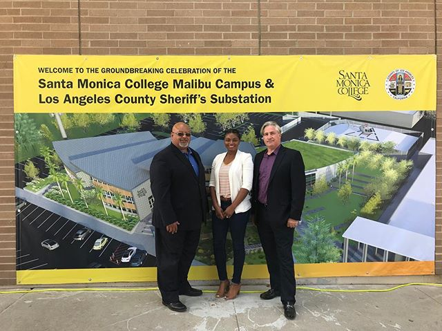 Earlier today, a few members of the QDG team attended the #groundbreaking ceremony for the @smcedu #malibu #campus and @lasdhq substation. See more #renderings of the project on our website! Also check out the article from the SMC Newsroom (link in bio). #santamonicacollege #lacountysheriff #architects #architecture #design #construction #groundbreakingceremony #qdgarchitecture