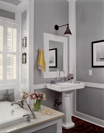 Nesting in functional grey the sassy salmon - Five modern gadgets for a functional bathroom ...