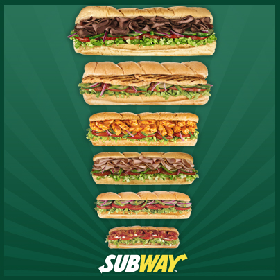 Check out these yummy subs!