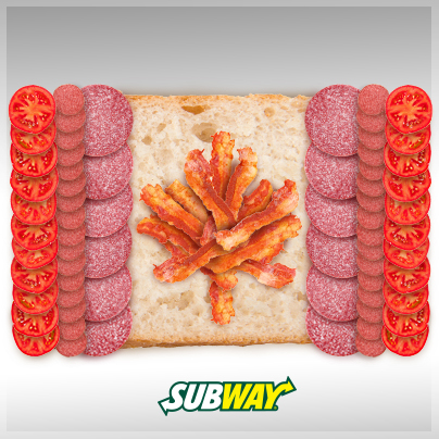 Happy Canada Day from Subway!