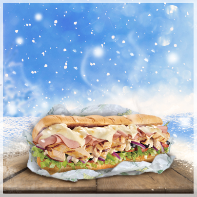 Celebrate the season. No matter the weather, you can always warm up with #Subway