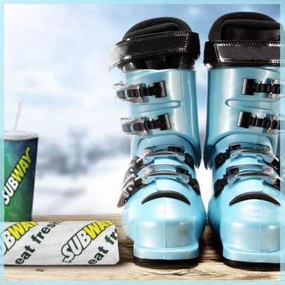 Get the fuel you need to hit the slopes all day.