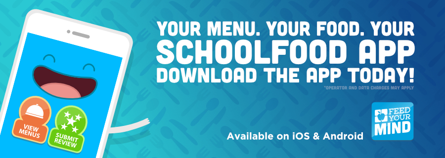 Download Your New SchoolFood Mobile App