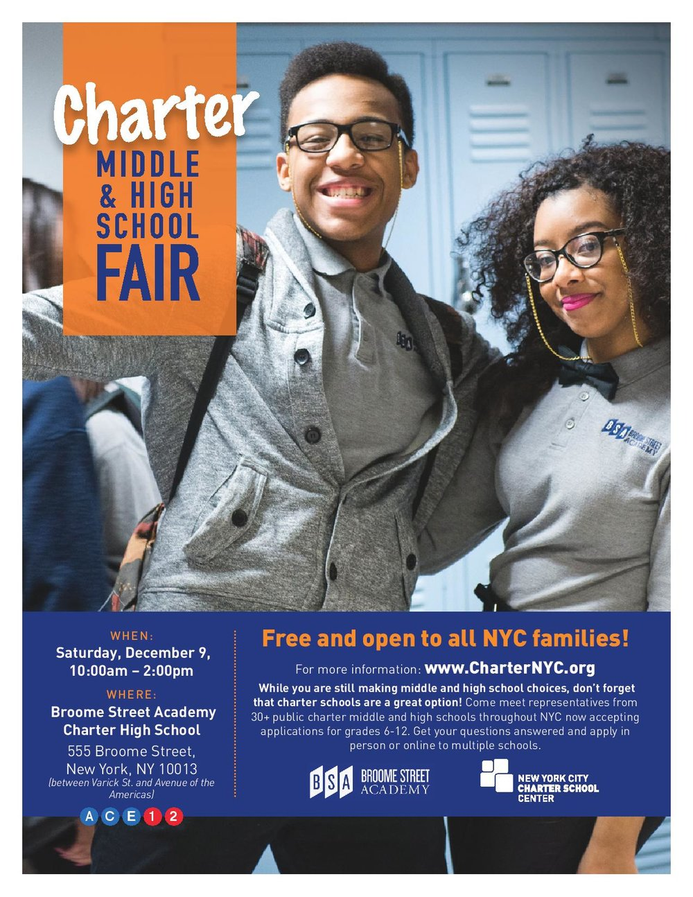For more information visit www.CharterNYC.org.