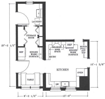 Redesigned Floorplan