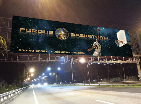 Purdue Basketball Outdoor