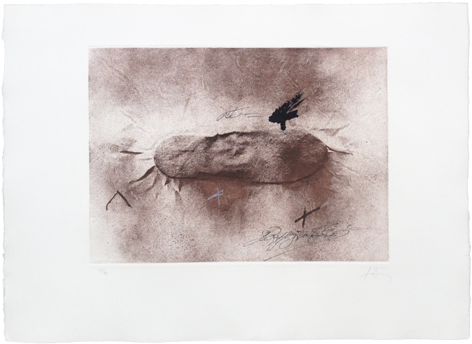 Petjades i signatures | 1982 | Gravura em metal | Edição 99 | 56 x 76 cm