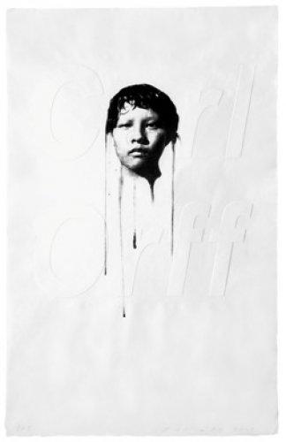 Carl Orff | 2008 | Técnica mista | 97 x 61 cm | Edition 50