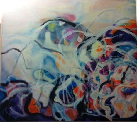 S/ título | 2012 | acrílica s/tela | 120 x 140 cm