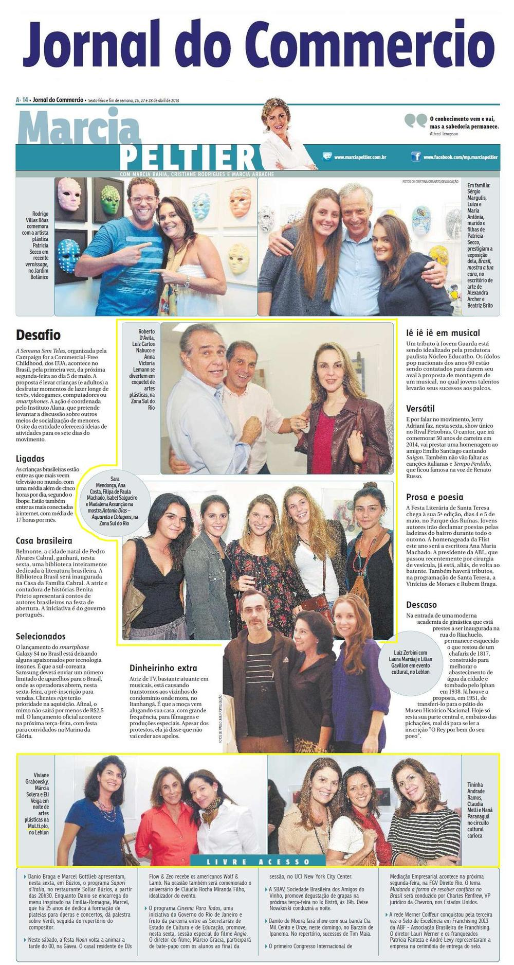 MÚL.TI.PLO ESPAÇO ARTE NO JORNAL DO COMMERCIO 26, 27 e 28.04.2013.JPG