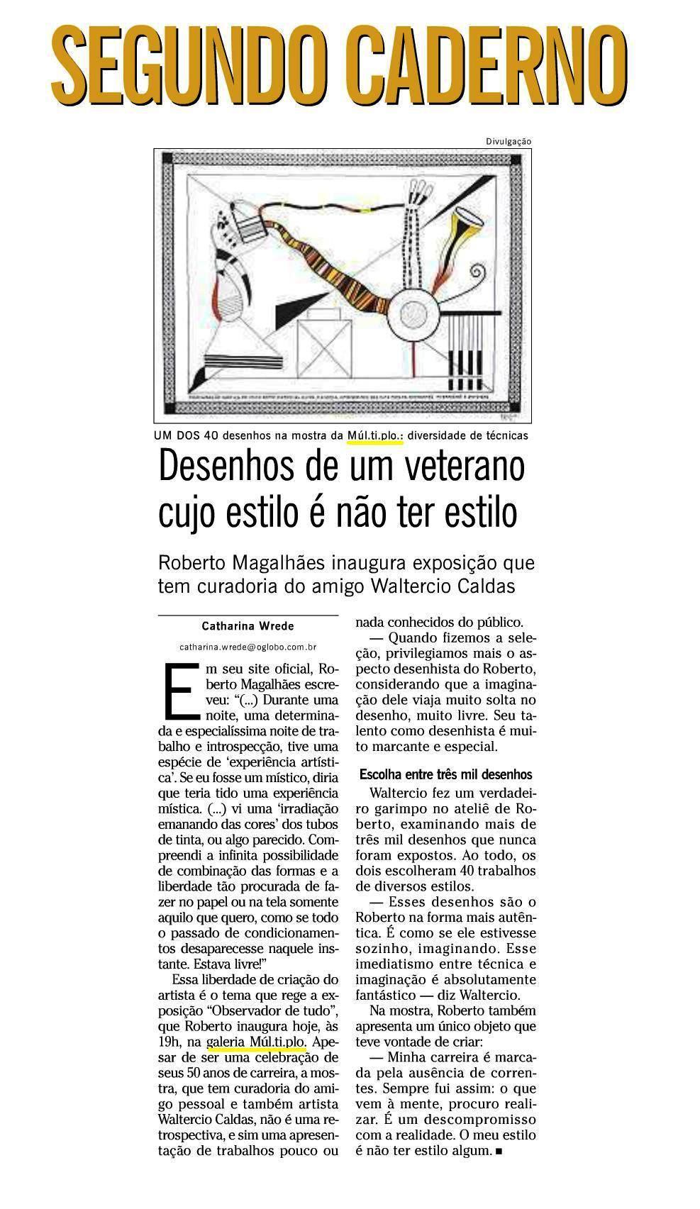 MUL.TI.PLO ESPAÇO ARTE NO JORNAL O GLOBO- SEGUNDO CADERNO 22.03.2012.JPG