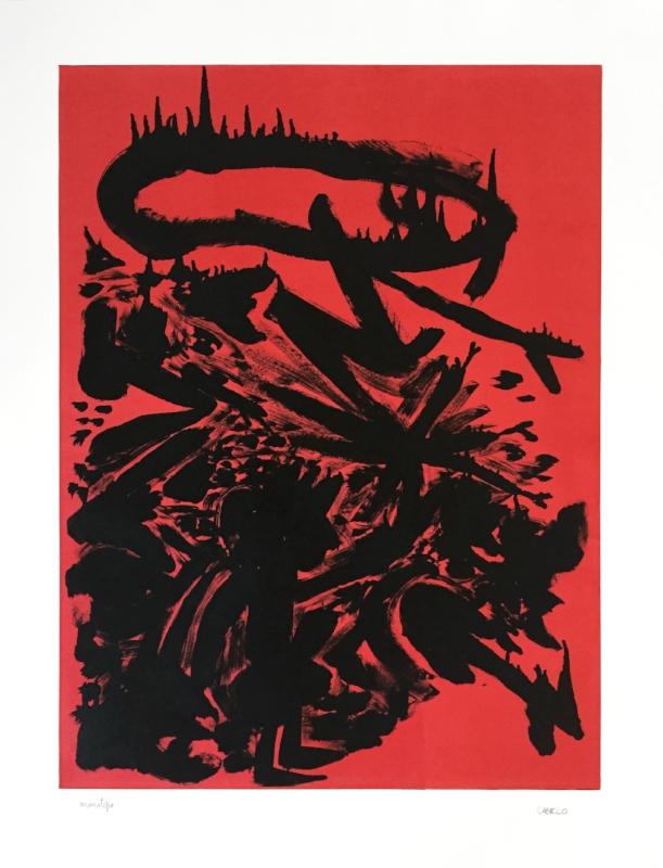 S/ título | 2015 | Monotipia | 96 x 72,5 cm - Coedição Mul.ti.plo + Polígrafa Obra Gráfica