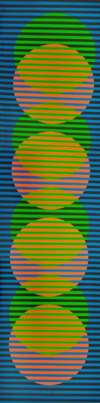 Sitge 1 Chromo interference | 2012 | Litografia | 100 x 25 cm
