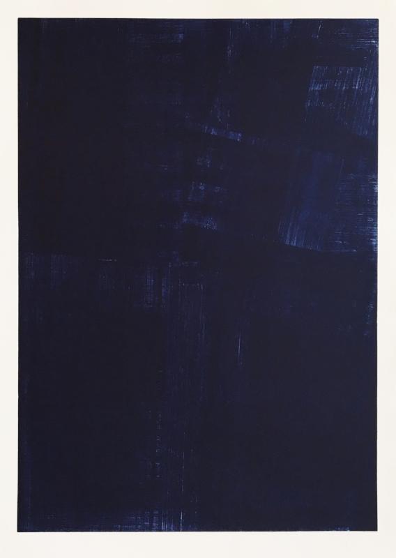 S/ Título | 2015 | Água forte, água tinta, maneira negra e colagem | Ed. 12 | 148 x 109 cm