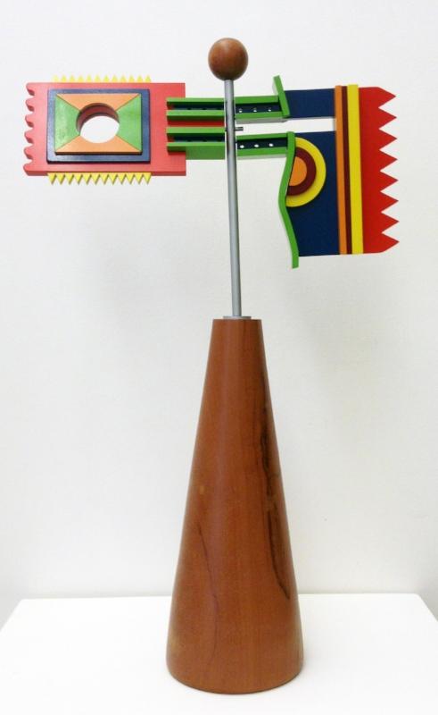 S/ Título | 2010 | Acrílico pintado de automotiva e madeira | 60 x 37 x 13 cm | Edição 10 - EDIÇÃO EXCLUSIVA