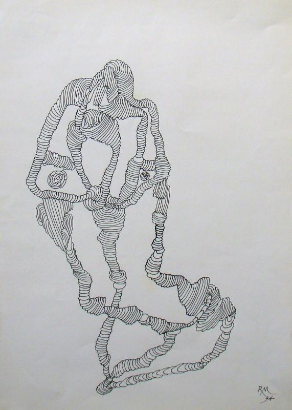 S/Título | 1994 | Desenho | 32 x 23 cm