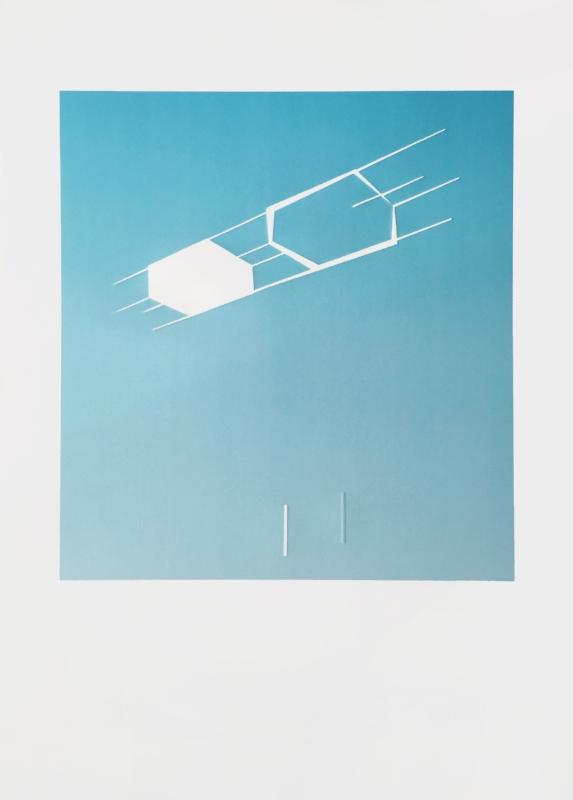 Copy of Sem título | 2015 | Litografia e relevo | Ed. 40 | 105 x 75 cm - Coedição Mul.ti.plo + Polígrafa Obra Gráfica