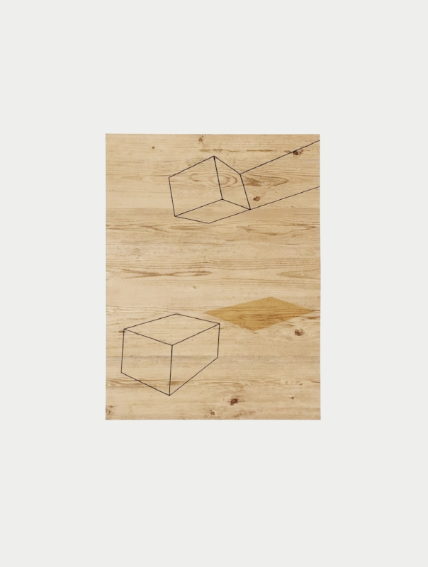 Sem título | 2015 | Litografia e colagem | Ed. 40 | 59 x 79 cm - Coedição Mul.ti.plo + Polígrafa Obra Gráfica