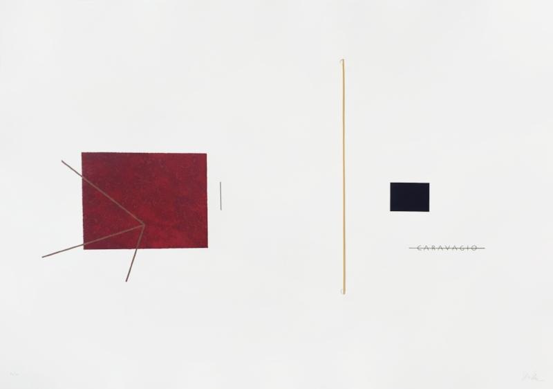 Sem título | 2015 | Litografia e gravura em metal | Ed. 40 | 75 x 105 cm - Coedição Mul.ti.plo + Polígrafa Obra Gráfica