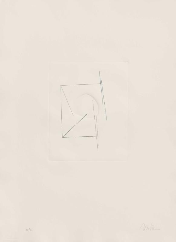 S/ título | Aguaforte e relevo | 2005 | 74 x 53,5 cm | Edição de 60