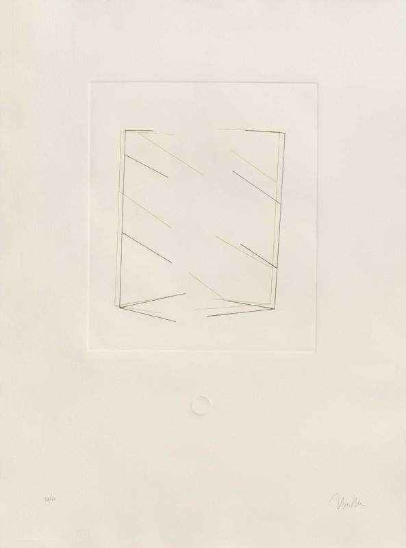 Espelho | Aguaforte e relevo | 2005 | 72 x 54 cm | Edição de 60