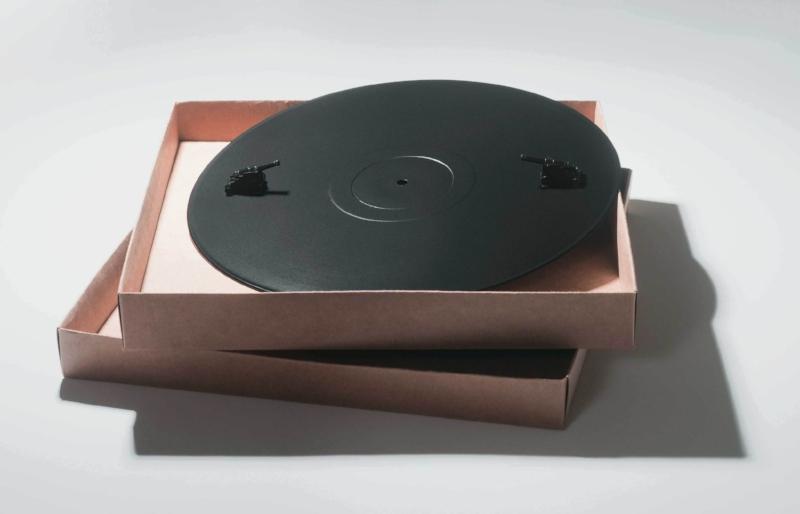 A Origem do Futuro | Montagem com objetos | 1974 | 3 x 30 x 30 cm | Edição de 10