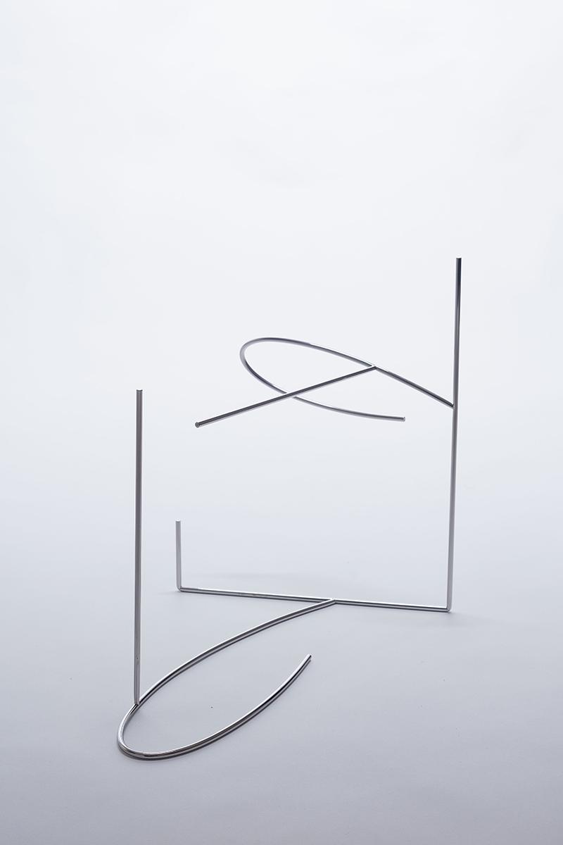 Meia-sombra | 2017 | múltiplo | aço inoxidável polido |32 x 38 x 22 cm| Edição 20
