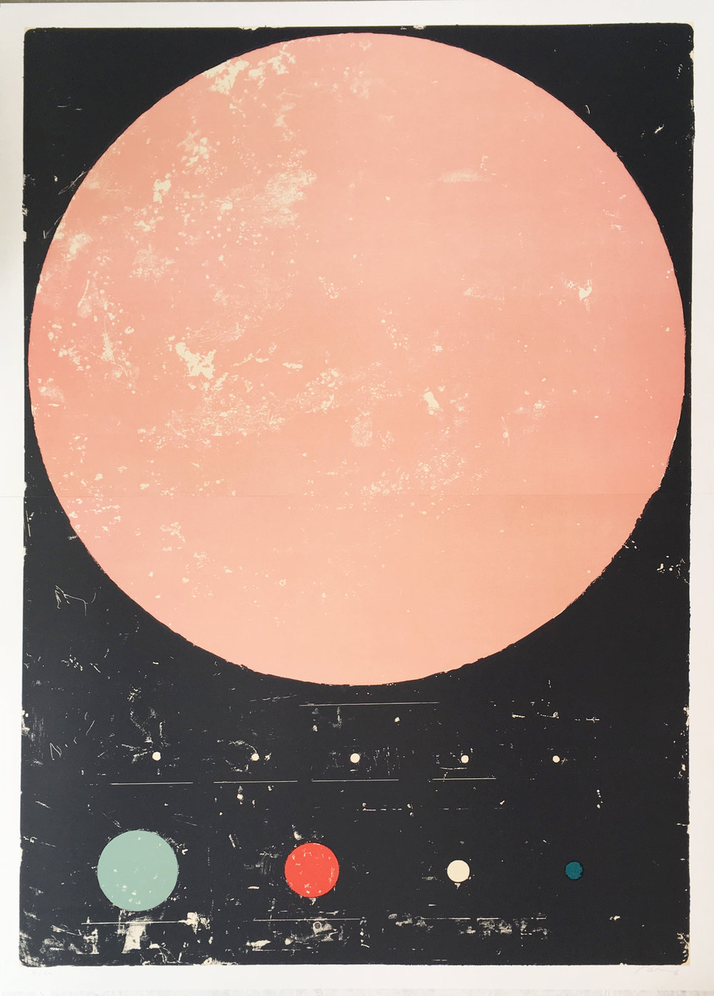 Regina Giménez | Sem título | 2018 | litografia | 143 x 103 cm | Edição 20