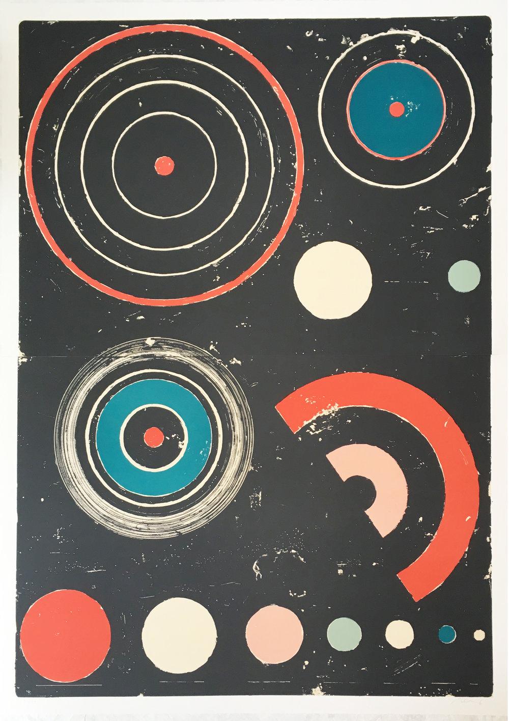 Sem título | 2018 | litografia | 143 x 103 cm | Edição 20