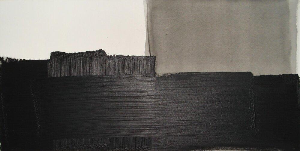 Sem título | 2015 | óleo s/ tela | 75  x 150 cm