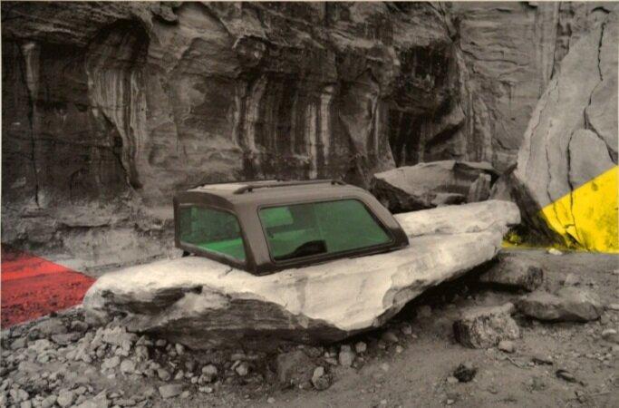 Stoned | 2014 | Impressão fine art com pigmento mineral sobre papel Hahnemühle e relevo seco | 50 x 70 cm | Edição 34 - EDIÇÃO EXCLUSIVA