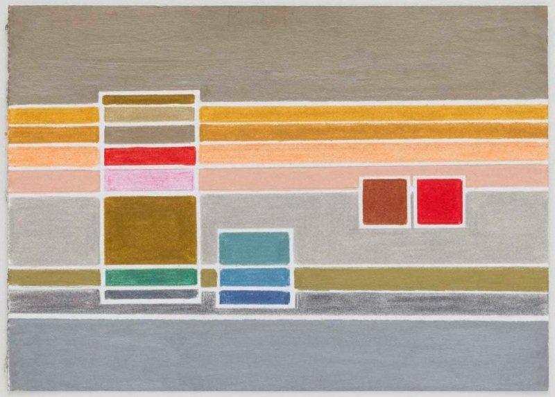 S/ título | 2012 | lápis de cor | 13 x 18 cm