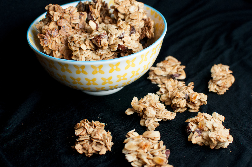 Ginger Granola Clusters