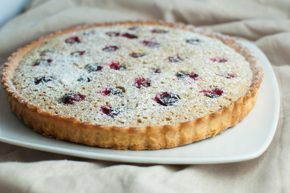 Almond Frangipane Tart with Cranberries, Recipe