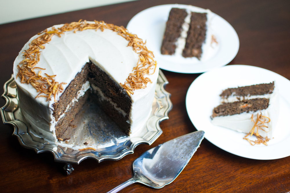 Gingerbread Cake Recipe, Cardamom Cream Cheese Frosting