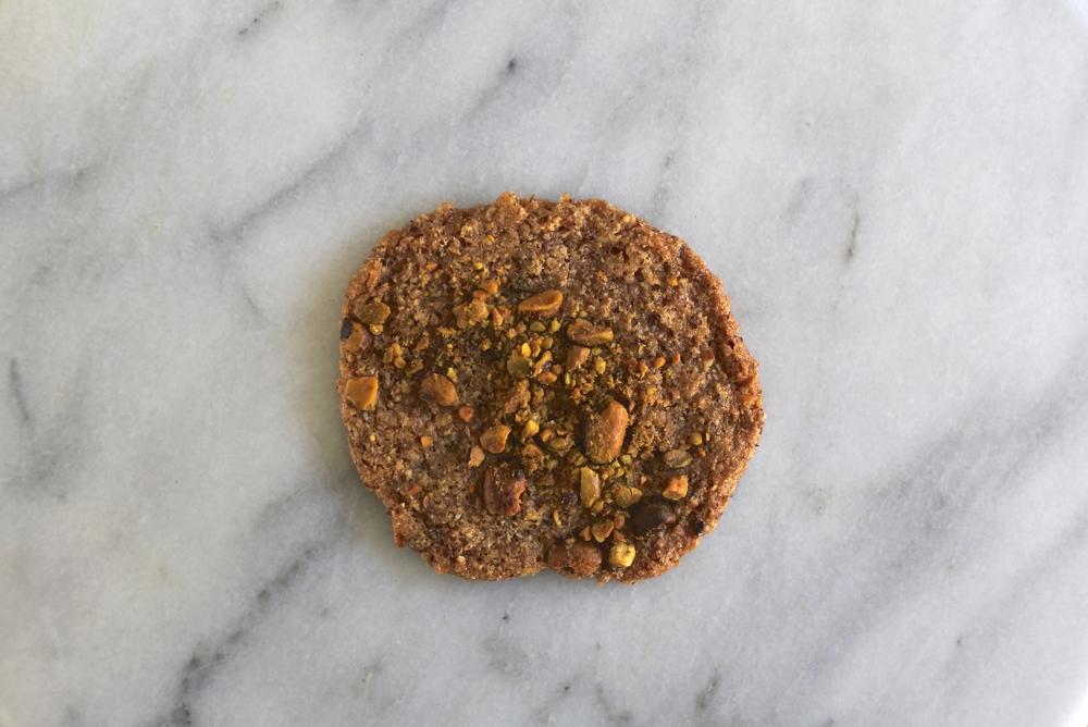 pistachio coconut cookie Vegan